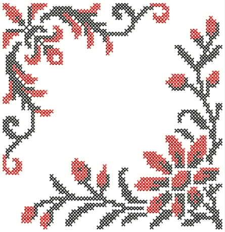 дизайнов машинной вышивки