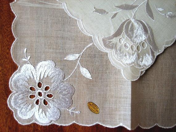 Как делать вышивку ришелье 13