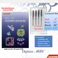 CutWork для Janome Memory Craft 12000/15000 и Digitizer MBX 4.0/4.5