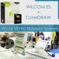 Выгодное предложение: VELLES VE19C-TS (Touch Screen) + WILCOM ES + CorelDRAW X6
