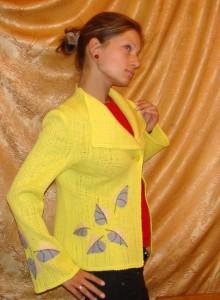 Желтый жакет.26
