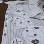 Стыковка вышивки в пяльцах