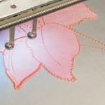 Мастер-класс по выполнению аппликации на вышивальной машине