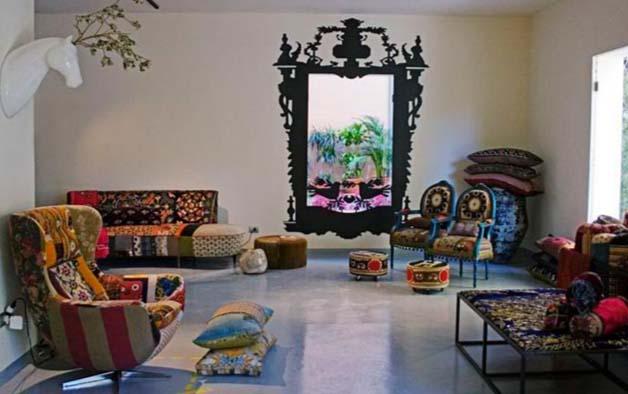 Арабский стиль в дизайне интерьеров.