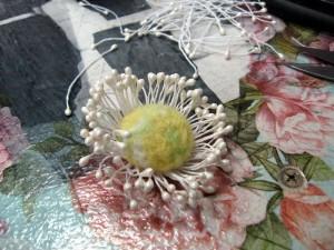 Цветок. Валяние.16
