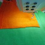 Проект Bernina: Cумочка с машинной вышивкой