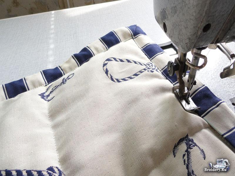 Стеганое покрывало Самостоятельно сшить покрывало можно довольно быстро, так как не придется много шить на швейной...