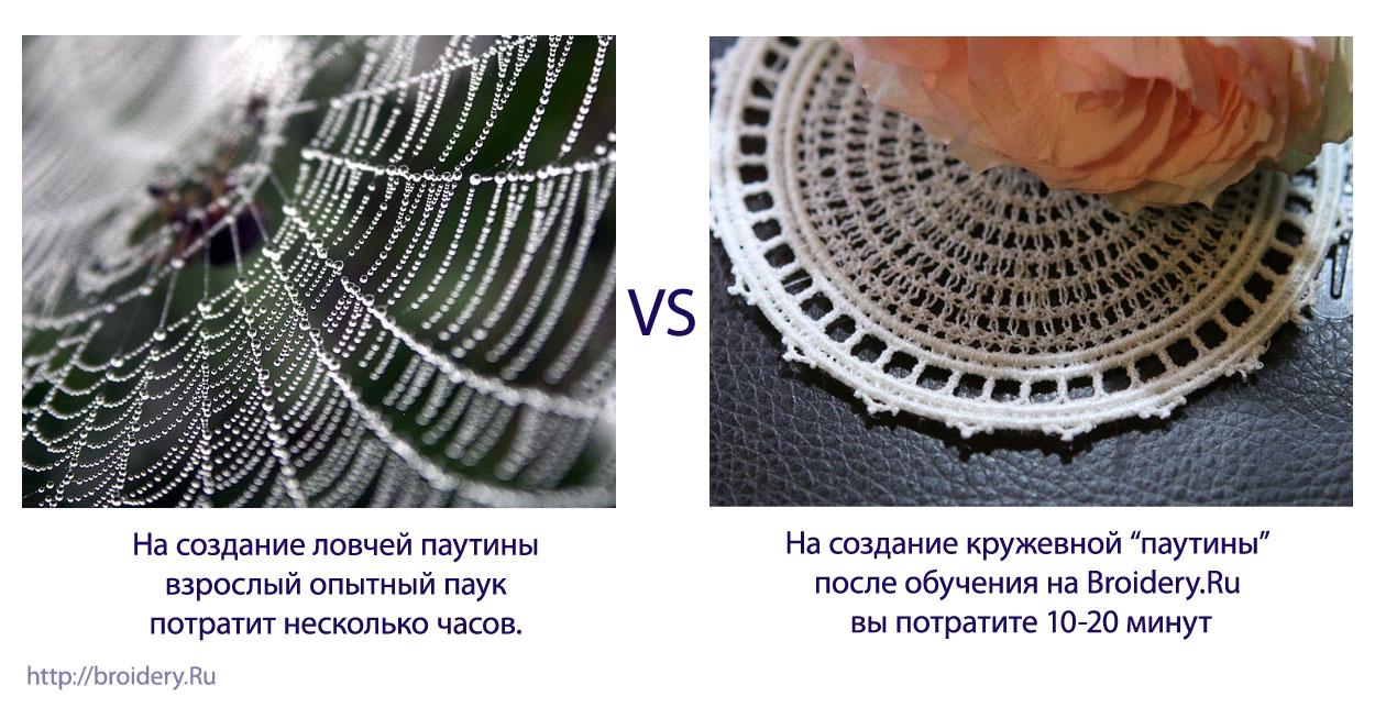 Обучение технологиям машинной вышивки