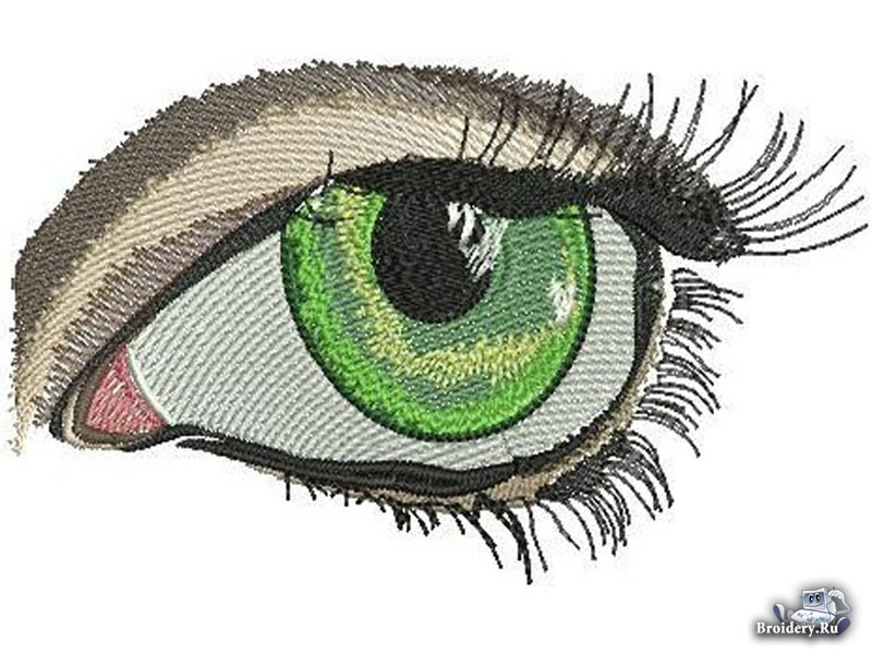 глаз в Wilcom