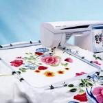 Как выбрать бытовую вышивальную машину. Большие пяльца