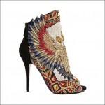 модная вышитая обувь