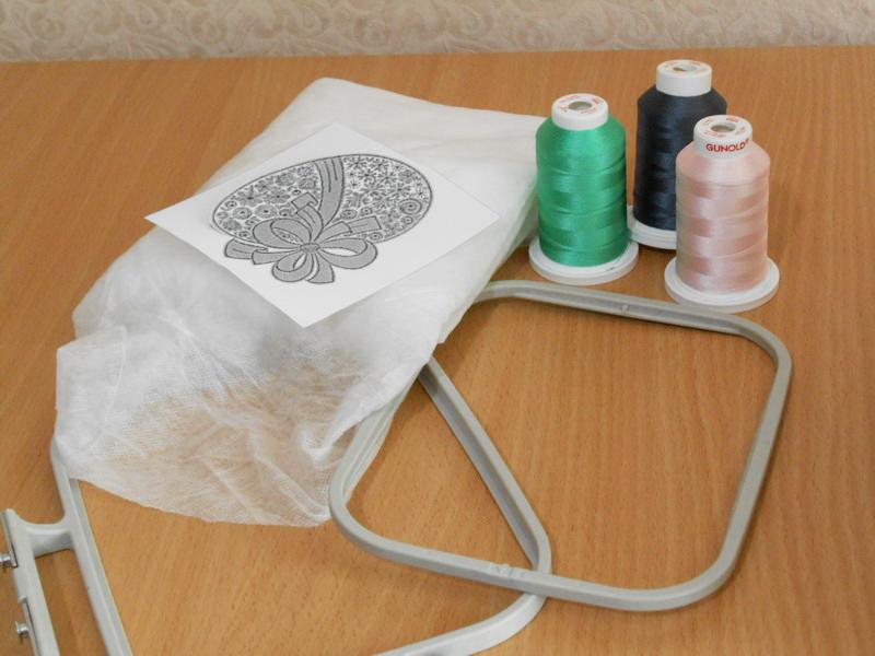 Стабилизатор для вышивки машинной 20