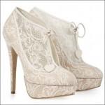 Модная обувь. Кружево