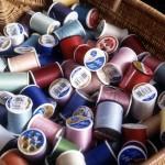 Запас материалов для машинной вышивки: Нитки вышивальные