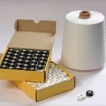 Запас материалов для машинной вышивки: Шпульки