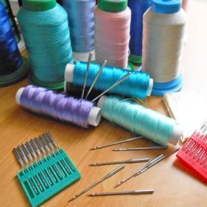 Технологии машинной вышивки. Нитки и иглы