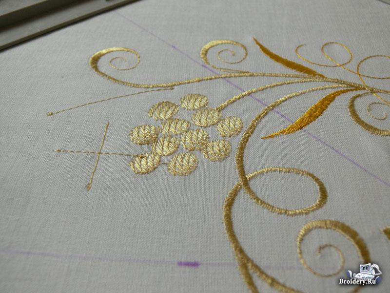 Вышивка на вышивальной машине дизайны