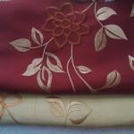Машинная вышивка цветочного дизайна
