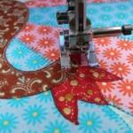 Словарь машинной вышивки. Многослойная аппликация