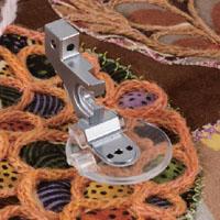 Лапка для вышивки шнуром на Brother
