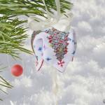Новогодняя вышивка бискорню