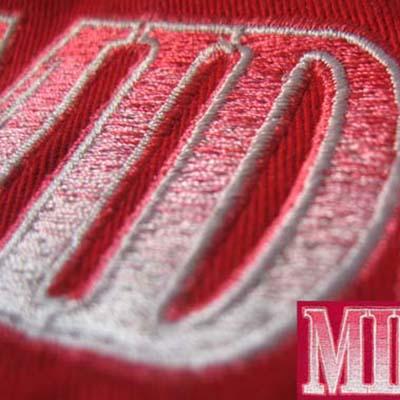 mimi. gradient embroidery digitizing