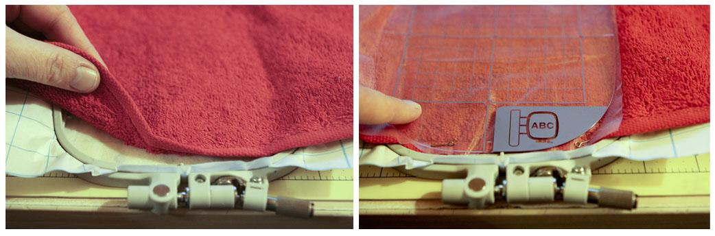 Машинная вышивка как запяливать
