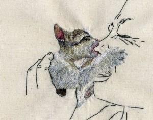 Вышитая картина Аны Терезы Барбоса (Ana Teresa Barboza)