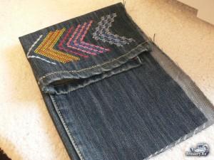 Как сшить сумку-рюкзак из старых джинс