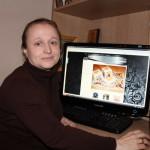 Мастер церковной вышивки Татьяна Маркова