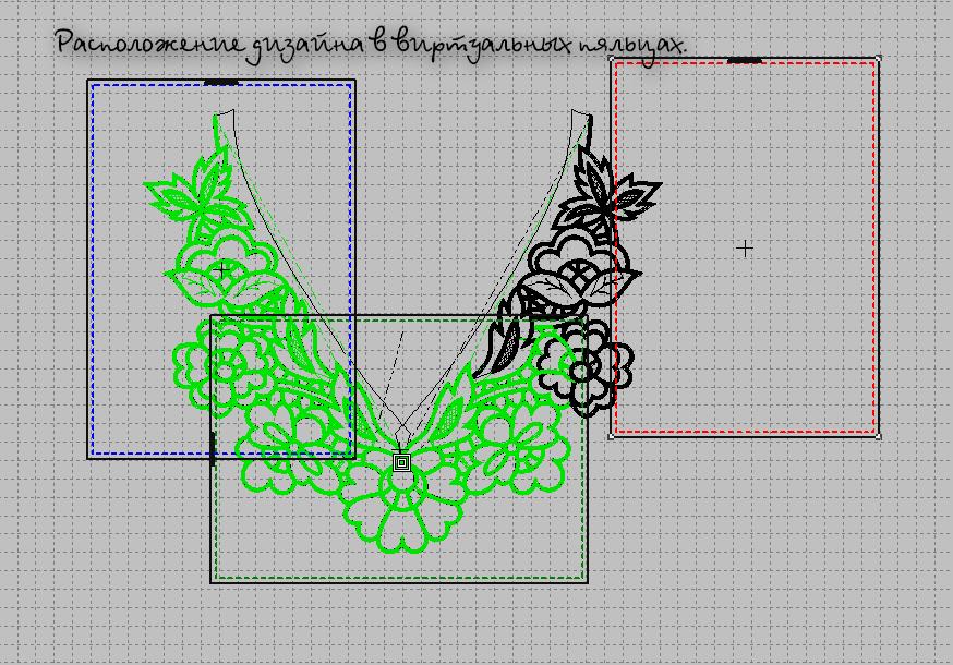Дизайн вышивок для вышивальных машин