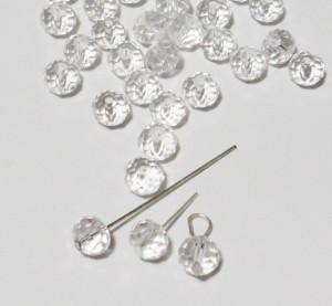 Вставляем гвоздики в кристаллы