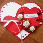 Скрапбукинг_открытки ко дню влюбленных