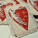 Текстильные валентинки