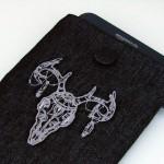 Мужской дизайн машинной вышивки