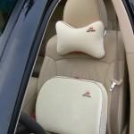 Автомобильные подушки с вышивкой