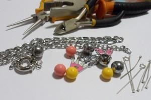 Женскй браслет_Инструменты и материалы