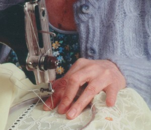 Машинная вышивка в свободной технике. Рабочий процесс