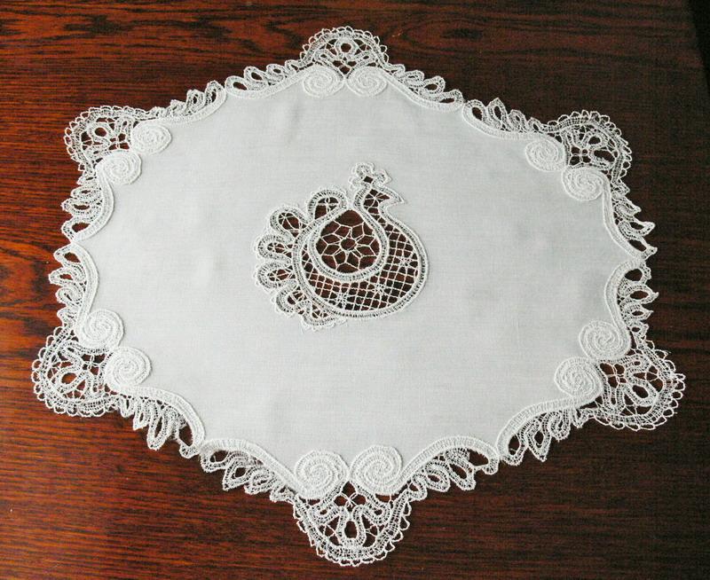 Вышивальная машина для кружева