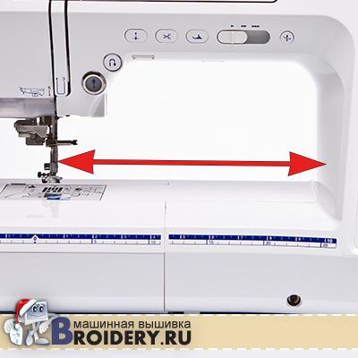 Рабочее поле швейной машины