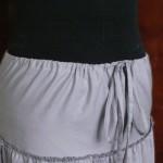 Оработка пояса-кулиски на юбке