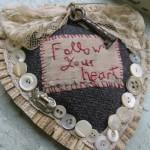 Винтажная вышивка и вещицы с налетом старины от Джесси Чорли (Jessie Chorley)
