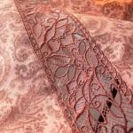Как правильно стыковать дизайны машинной вышивки кружева