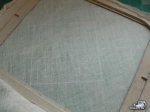 Машинная вышивка на фатине