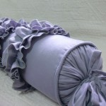 Подушка-валик своими руками