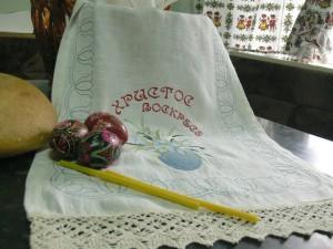 Вышиваем пасхальный рушник