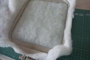 Стежка на вышивальной машине