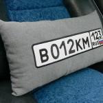 Подушки для автомобиля с вышивкой