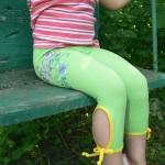 Как сшить лосины ребенку