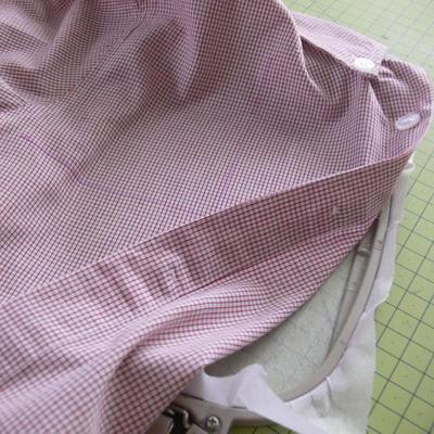 Как запяливать машинная вышивка